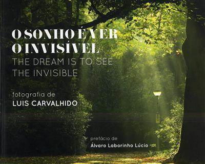 O sonho é ver o invisível (Luis Carvalhido)