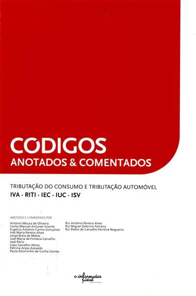 Códigos anotados & comentados (anot. e coment. António Moura de Oliveira... [et al.])