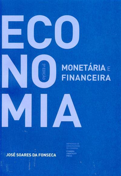 Economia monetária e financeira (José Soares da Fonseca)