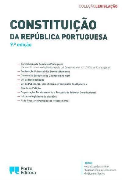 Constituição da República Portuguesa (coord. Isabel Rocha)