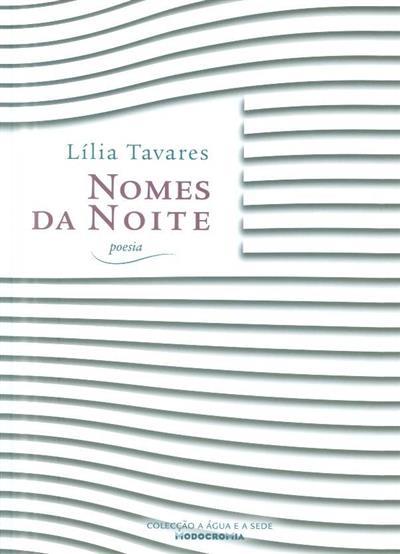 Nomes da noite (Lília Tavares)
