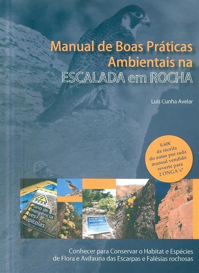 Manual de boas práticas ambientais na escalada em rocha (Luís Cunha Avelar)
