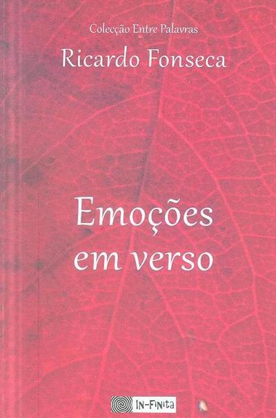 Emoções em verso (Ricardo Fonseca)