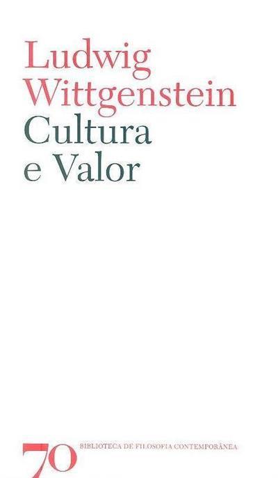 Cultura e valor (Ludwig Wittgenstein)