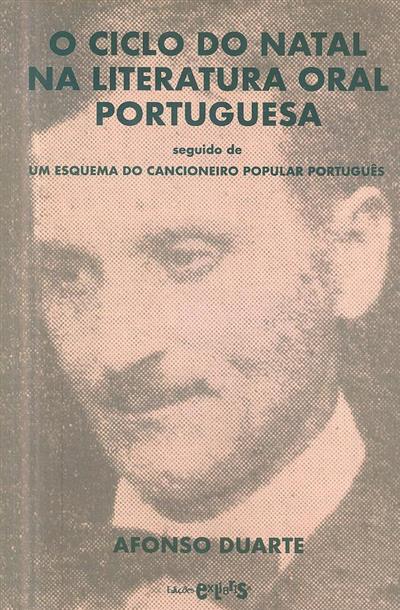 O ciclo do Natal na literatura oral portuguesa ; (Afonso Duarte)