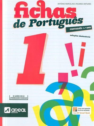 Fichas de português 1 (António Marcelino, Ricardo Antunes)