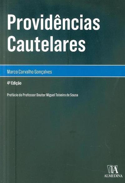Providências cautelares (Marco Carvalho Gonçalves)