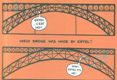 Which bridge was made by Eiffel?