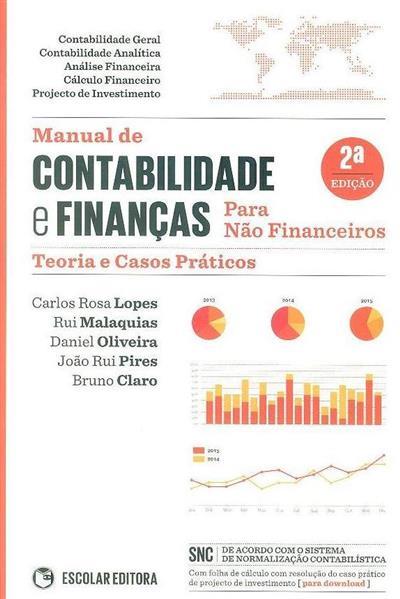Manual de contabilidade e finanças para não financeiros (Carlos Rosa Lopes... [et al.])