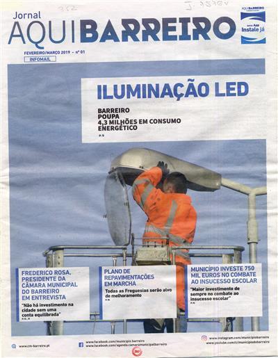 Jornal aquiBarreiro (propr. Câmara Municipal do Barreiro)