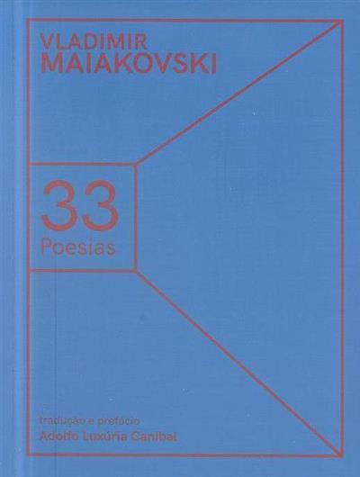 33 poesias (Vladimir Maiakovski)