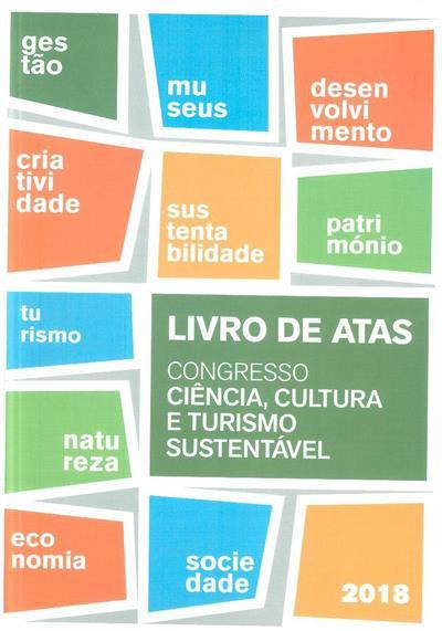 """Livro de atas (Congresso """"Ciência, Cultura e Turismo Sustentável"""")"""