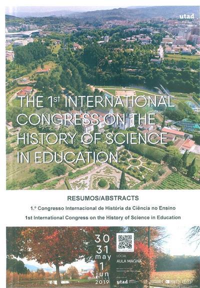 1º Congresso Internacional de História da Ciência no Ensino (ed. Isilda Rodrigues, Jorge Azevedo)