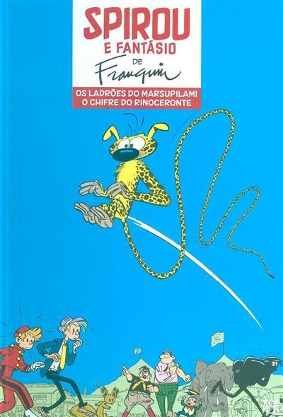 Os ladrões do Marsupilami ; (A. Franquin)