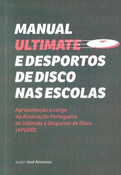 Manual Ultimate e desportos de disco nas escolas