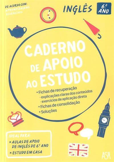 Caderno de apoio ao estudo (Ana Santos, Clara Bugalhão)