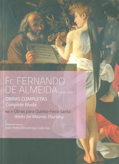 Obras para Quinta-Feira Santa (Fernando de Almeida)