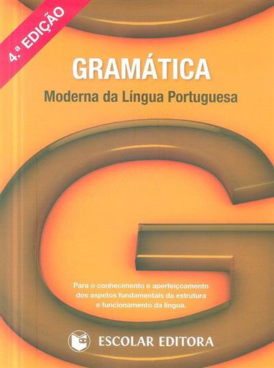 Gramática moderna da língua portuguesa (rev. cient. João Carlos Matos)
