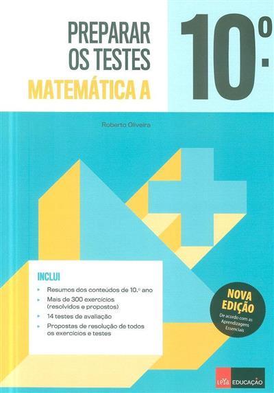 Preparar os testes 10 (Roberto Oliveira)