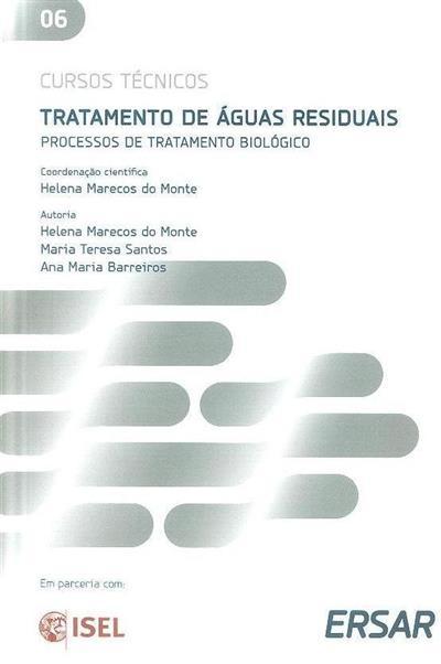 Tratamento de águas residuais (coord. cient. Helena Marecos do Monte)