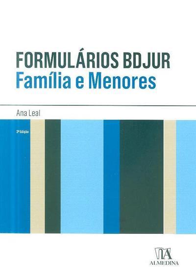 Formulários BDJUR (Ana Leal)