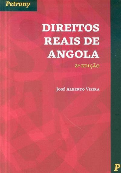 Direitos reais de Angola (José Alberto Vieira)