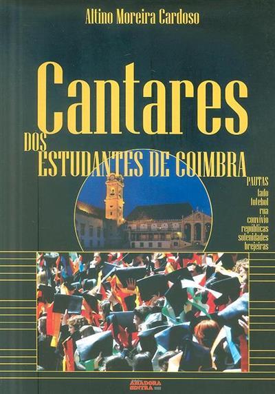 Cantares dos estudantes de Coimbra (Altino Moreira Cardoso)