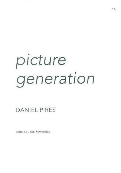 Picture generation (Daniel Pires)