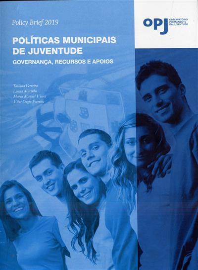 Políticas municipais de juventude (Tatiana Ferreira... [et al.])