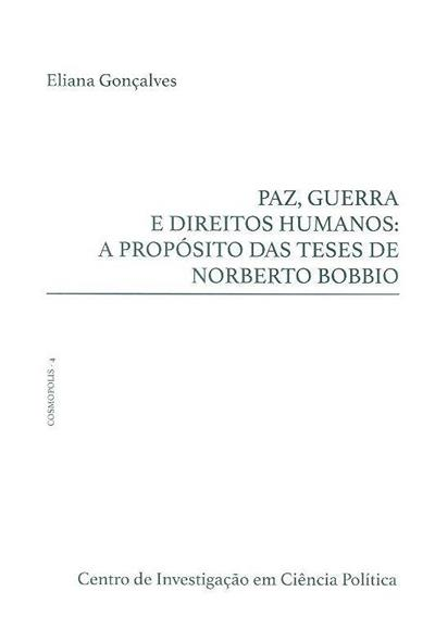 Paz, guerra e direitos humanos (Eliana Gonaçlves)