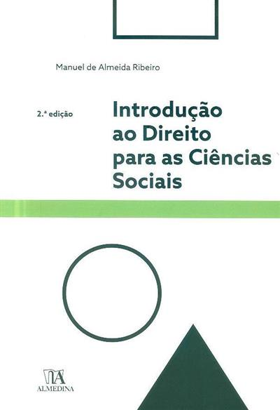 Introdução ao direito para as ciências sociais (Manuel de Almeida Ribeiro)