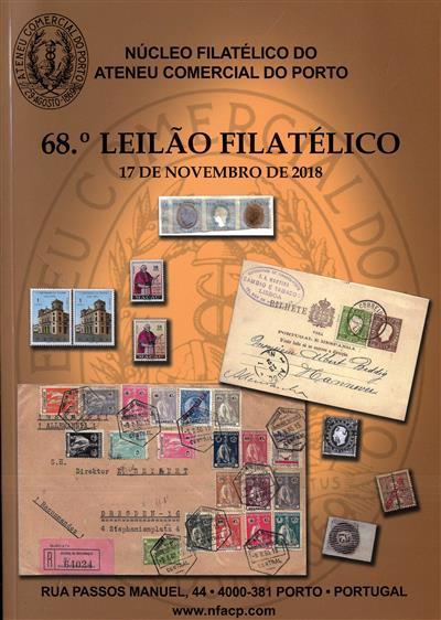 68º leilão filatélico (Núcleo Filatélico do Ateneu Comercial do Porto)