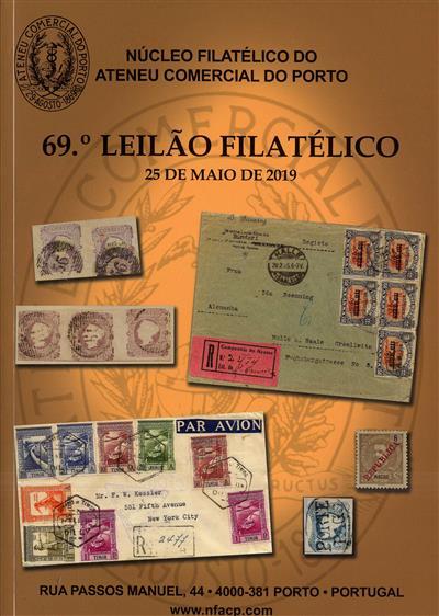 69º leilão filatélico (Núcleo Filatélico do Ateneu Comercial do Porto)