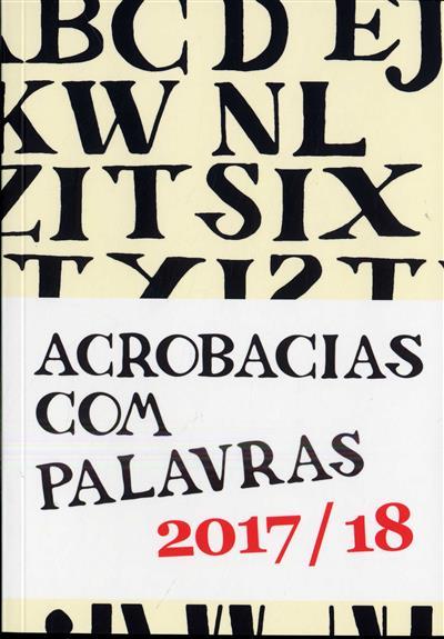 Acobracias com palavras, ano lectivo 2017-2018 (texto, il. Ana Reis... [et al.])