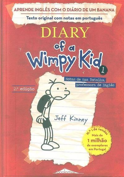 Aprende inglês com o Diário de um Banana 1 (Jeff Kinney)