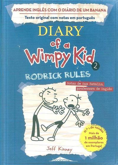 Aprende inglês com o Diário de um Banana 2 (Jeff Kinney)