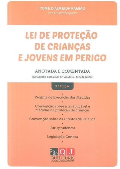 Lei de proteção de crianças e jovens em perigo (Tomé d'Almeida Ramião)
