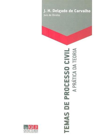 Temas de processo civil (J. H. Delgado de Carvalho)