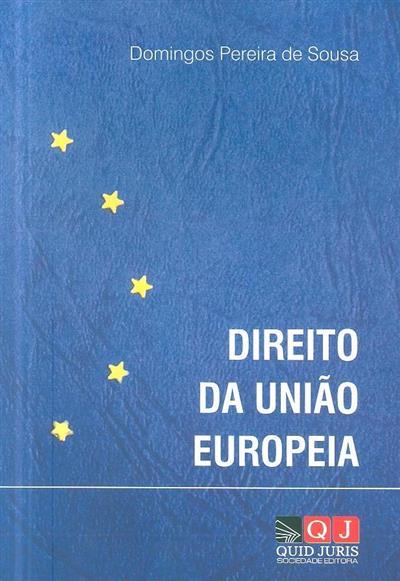Direito da União Europeia (Domingos Pereira de Sousa)