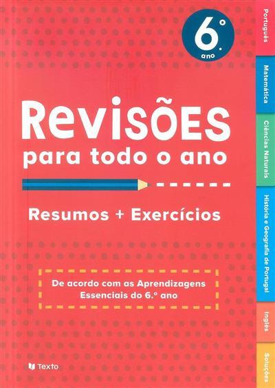 Revisões para todo o ano, 6º ano (Cláudia Ferreira... [et al.])