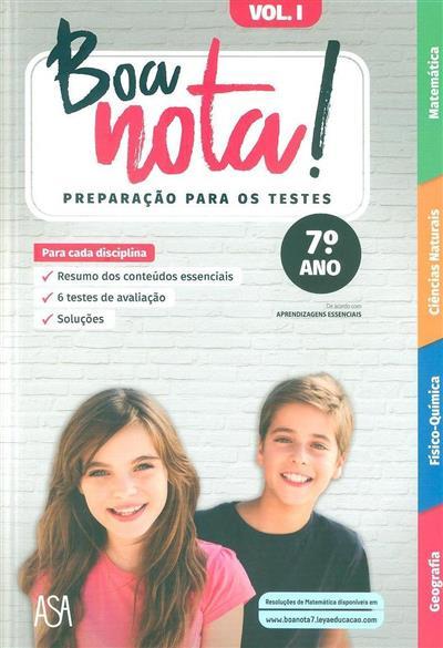Boa nota! (Filipa Carvalho... [et al.])