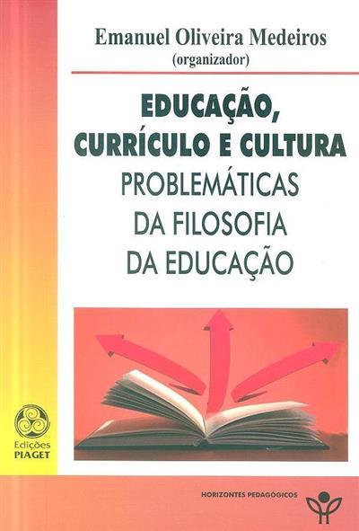 Educação, currículo e cultura (Emanuel Oliveira Medeiros)