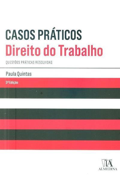 Casos práticos, direito do trabalho (Paula Quintas)