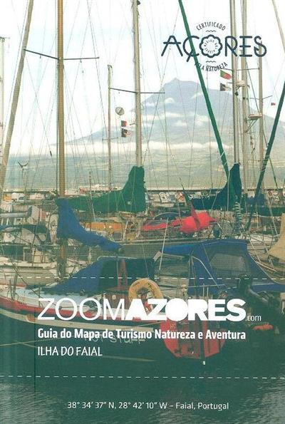 Guia do mapa de turismo natureza e aventura, Ilha do Faial