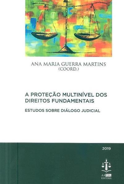 A proteção multinível dos direitos fundamentais (coord. e introd. Ana Maria Guerra Martins)