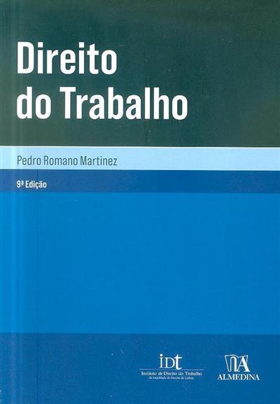 Direito do trabalho (Pedro Romano Martinez)