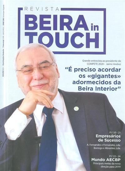 Revista Beira in touch (propr. AECBP - Associação Empresarial da Covilhã, Belmonte e Penamacor)