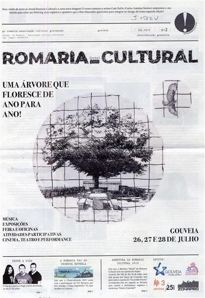 Jornal romaria cultural (propr. Go Romaria - Associação Cultural Gouveense)