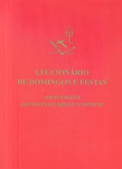Leccionário de domingos e festas (resp. de trad., correcção e ed. Alberto Anjos Coelho)