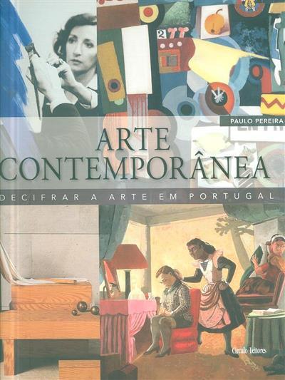 Arte contemporânea (Paulo Pereira)